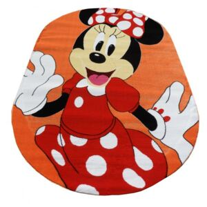 Covor Minnie Mouse Orange Oval