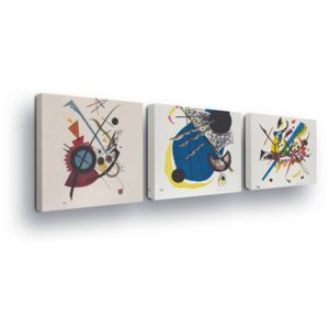 GLIX Tablou - Abstract Trio II 3 x 25x25 cm