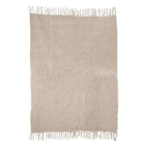 Covor crem din in 155x215 cm Linen Natural HK Living
