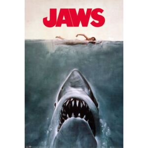 Jaws - Key Art Poster, (61 x 91,5 cm)