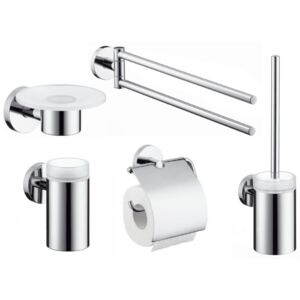 Set accesorii baie Hansgrohe Logis 5 piese