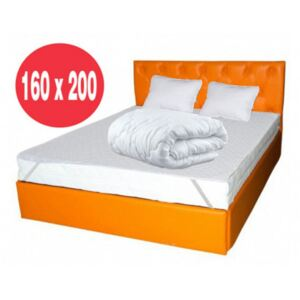 Set Avantaj saltea Hermes Super High Comfort 160x200 plus 2 perne