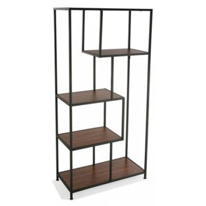 Etajera maro din PAL si metal 143 cm Kler Shelves Little Versa Home