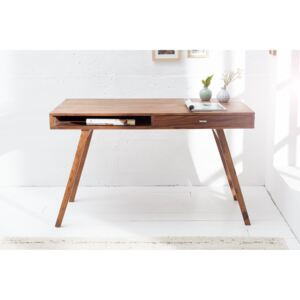 Birou din lemn masiv 120cm Sheesham Retro Desk | PRIMERA COLLECTION