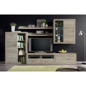 Set living CANCAN 1, 290/48/195 h cm , stejar sonoma