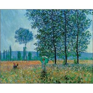 Fields In Spring Reproducere, Claude Monet, (70 x 50 cm)