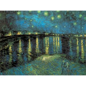 Starry Night Over the Rhone, 1888 Reproducere, Vincent van Gogh, (80 x 60 cm)