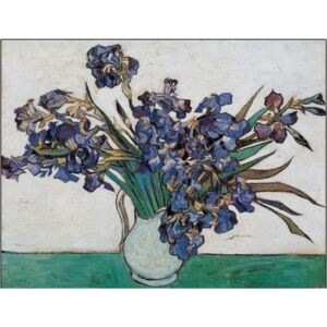 Vase with Irises, 1890 Reproducere, Vincent van Gogh, (30 x 24 cm)