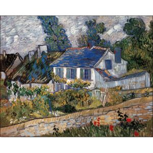 Houses in Auvers, 1890 Reproducere, Vincent van Gogh, (30 x 24 cm)
