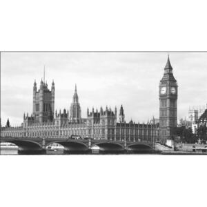 London - Houses of Parliament and Big Ben Reproducere, ALAN SCHEIN PHOTOGRAPHY, (100 x 50 cm)