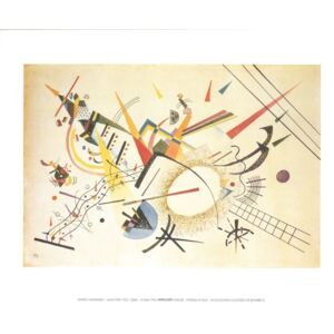 Composition 1922 Reproducere, Kandinsky, (30 x 24 cm)