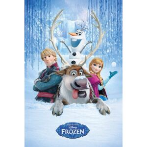 Frozen - Snow Group Poster, (61 x 91,5 cm)