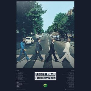 Beatles - Abbey Road Tracks Poster, (61 x 91,5 cm)