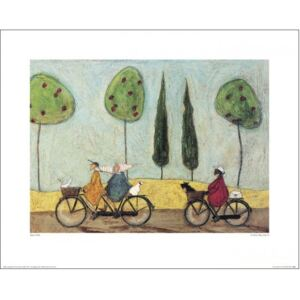 Sam Toft - A Nice Day For It Reproducere, (50 x 40 cm)
