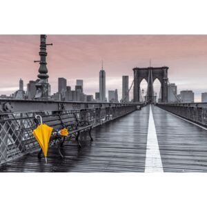 New York - Brooklyn bridge, Assaf Frank Poster, (91,5 x 61 cm)