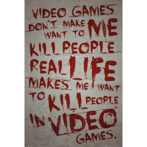 Gaming - Video Games Poster, (61 x 91,5 cm)