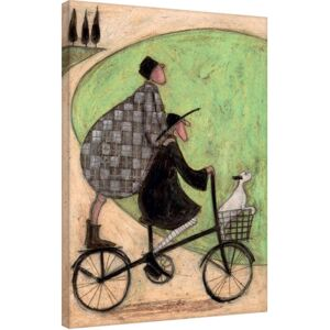 Sam Toft - Double Decker Bike Tablou Canvas, (60 x 80 cm)