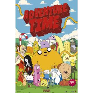 Adventure time - personajes Poster, (61 x 91,5 cm)