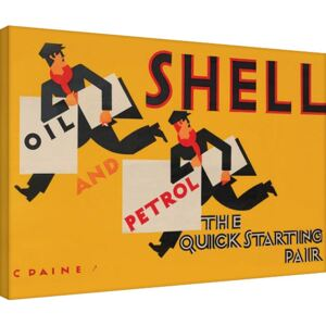 Shell - Newsboys, 1928 Tablou Canvas, (80 x 60 cm)
