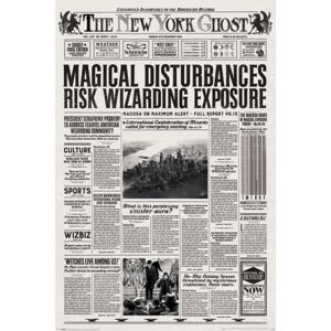 Fantastic Beasts And Where To Find Them - The New York Ghost Poster, (61 x 91,5 cm)
