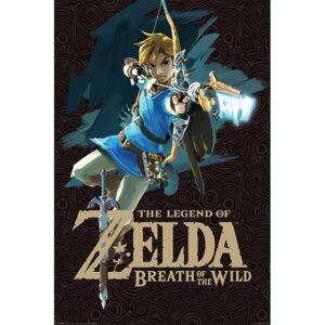Zelda Breath of the Wild - Game Cover Poster, (61 x 91,5 cm)