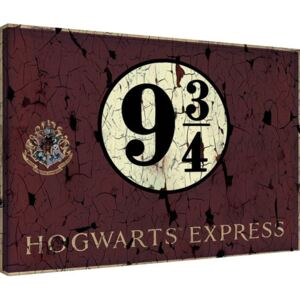 Harry Potter - Hogwart's Express Tablou Canvas, (60 x 80 cm)