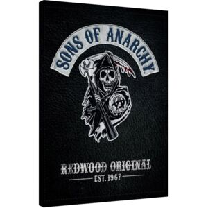 Tablou Canvas Sons of Anarchy - Cut, (60 x 80 cm)