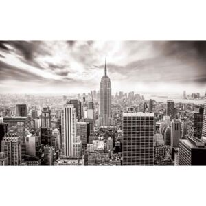 City Skyline Empire State New York Fototapet, (368 x 254 cm)