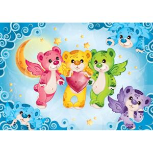Care Bears Heart Fototapet, (104 x 70.5 cm)