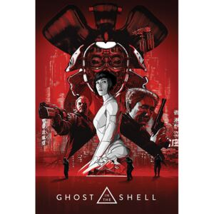 Ghost In The Shell - Red Poster, (61 x 91,5 cm)