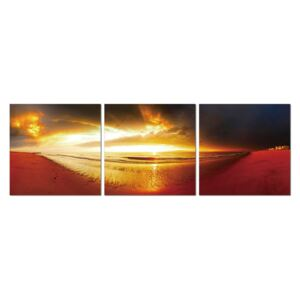 Golden sunset Tablou, (150 x 50 cm)