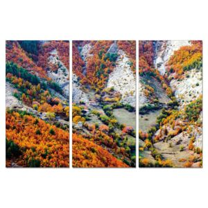 Color mountainous landscape Tablou, (90 x 60 cm)