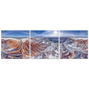 Snowy Mountains Tablou, (120 x 40 cm)