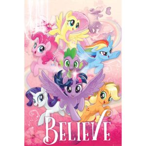 My Little Pony: Movie - Believe Poster, (61 x 91,5 cm)