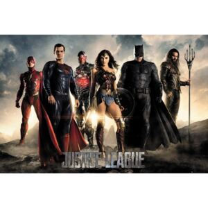 Justice League - Characters Poster, (61 x 91,5 cm)