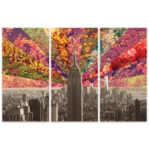 Bianca Green - Flowers of New York Tablou Canvas, (100 x 150 cm)
