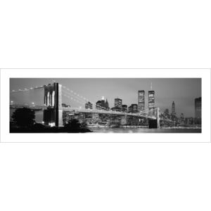New York - Skyline Reproducere, (33 x 95 cm)