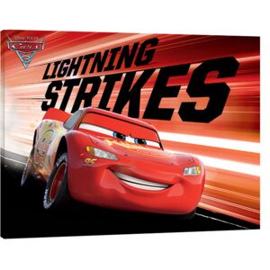 Cars 3 - Lightning Strikes Tablou Canvas, (80 x 60 cm)