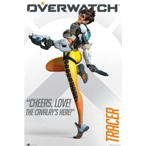 Poster Overwatch - Tracer, (61 x 91.5 cm)
