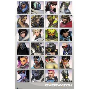Poster Overwatch - Character Portraits, (61 x 91.5 cm)