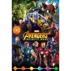 Avengers: Infinity War - Characters Poster, (61 x 91,5 cm)