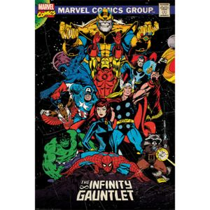 Marvel Retro - The Infinity Gauntlet Poster, (61 x 91,5 cm)