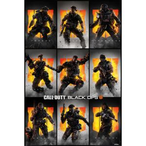 Call Of Duty – Black Ops 4 - Characters Poster, (61 x 91,5 cm)