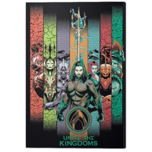 Aquaman - Unite the Kingdoms Tablou Canvas, (60 x 80 cm)