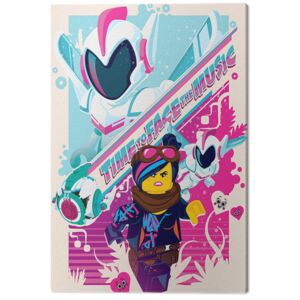 The Lego Movie 2 - Face the Music Tablou Canvas, (60 x 80 cm)