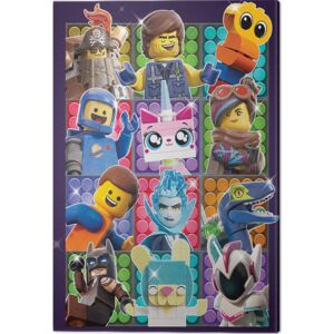 The Lego Movie 2 - Some Assembly Required Tablou Canvas, (60 x 80 cm)