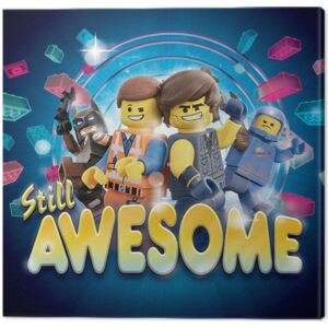 The Lego Movie 2 - Still Awesome Tablou Canvas, (40 x 40 cm)