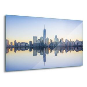Tablouri pe sticla Manhattan Mirror