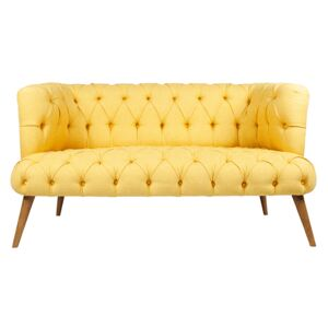 Canapea Loveseat West Monreo Galben