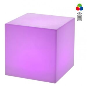 Corp iluminat exterior decorativ LED Redo DADOS 300mm, multicolor
